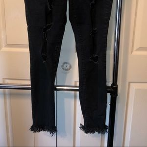 Old navy rockstar skinny jeans jeans